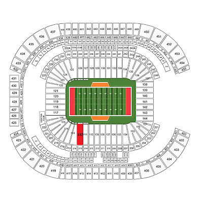 Lower Sideline Fiesta Bowl Tickets - College Football Playoff National Semifinal