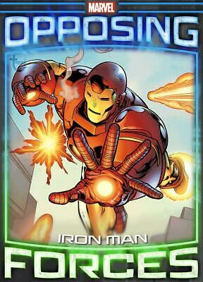 Topps Marvel Collect Iron Man vs. Mandarin Opposing Forces [DIGITAL TILT CARD]