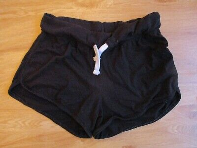 New Look Maternity Black Under Bump Jersey Shorts Size 12