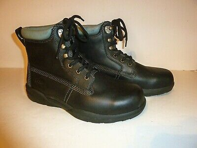 Men's Dr. Comfort Protector Steel Toe Leather Boots! Sz. 8.5 W New L@@K!!!
