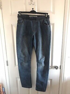 Boys Pull On Blue Jeans Age 13-14 Years