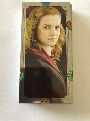 Harry Potter Contact Trading Card Complete Set All  (140) Panini