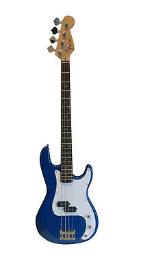Bass Guitar 4 String for beginners Blue iMEB741 Good Quality Good Price