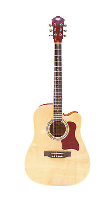 Acoustic Guitar for beginners Natural 41 inch Full Size iMusic960PG