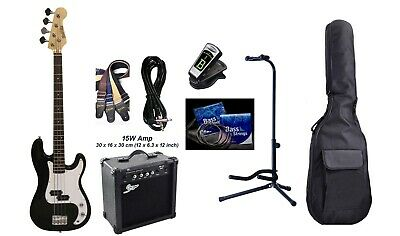 Bass Guitar Pakcage with Amp,Stand,eTuner,Bag,Strap,String set,Cord iMEB807PK