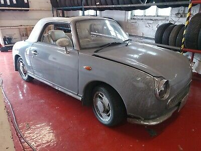 Nissan Figaro Lapis Grey 90k miles 1 litre turbo Auto MOT Ready Winter project