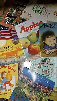 Lot of 25 mixed Story Time kids childrens toddlers books - Disney, Scholastic