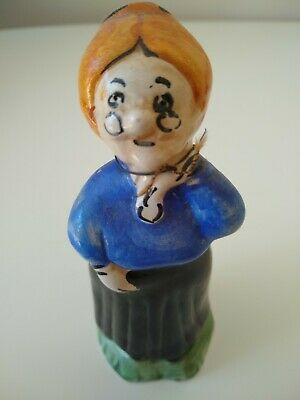 Vintage Carosello Warner Brothers Looney Tunes Decanter Grandma
