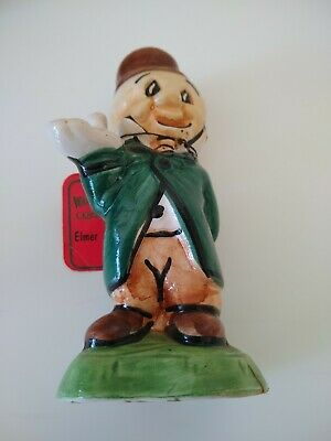 Vintage Carosello Warner Brothers Looney Tunes Decanter Elmer Fudd