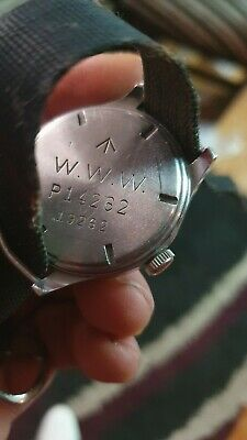Vintage Jaeger-LeCoultre w.w.w British Military Hand-winding Mans Watch Rare!!