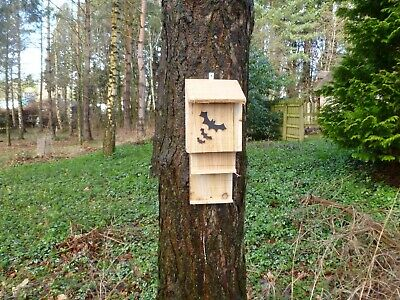3  BAT/Roost Nest box ECO friendly, Hand made by homes for woodland folk