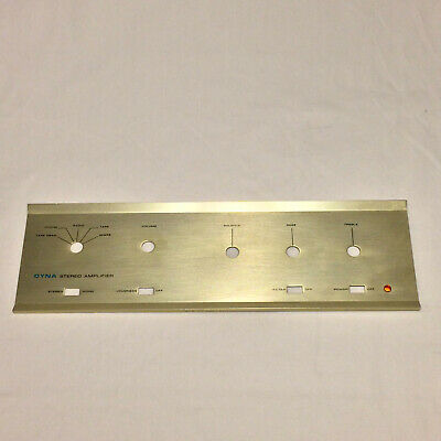 DYNACO DYNA Stereo Amplifier Faceplate