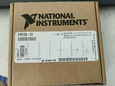 National Instruments NI 9215 cDAQ Analog Input Module, Simultaneous Sampling