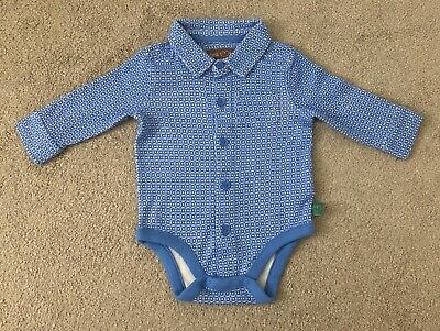Little Bird Mothercare Blue Baby Boys Shirt Vest Up To 3 Months Jools Oliver