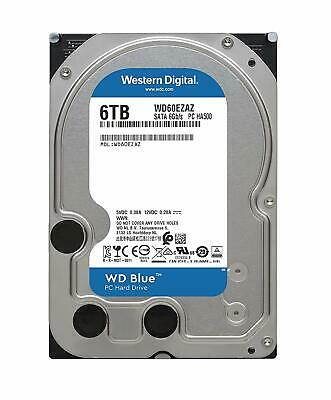 "Western Digital WD Blue 3.5"" 6TB SATA PC Internal Hard Drive HDD 256MB 5400RPM"