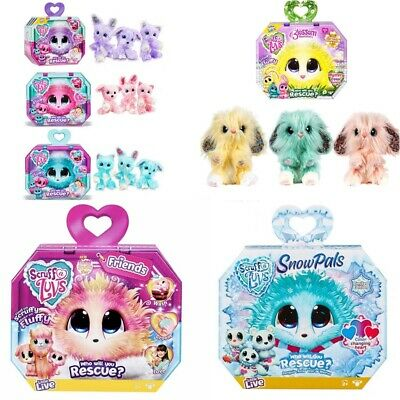 Little Live Scruff A Luvs Pet Soft Toy Rescue Pet Soft Doll Toy Kids Xmas Gifts