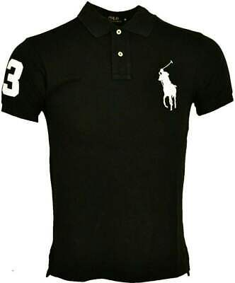 Ralph Lauren Polo T-Shirt Big Pony Short Sleeve Black