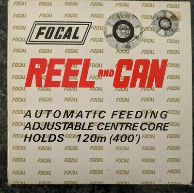Focal Super 8 8mm Reel and Can 120m 400' with Original Box, Preloved, Vintage