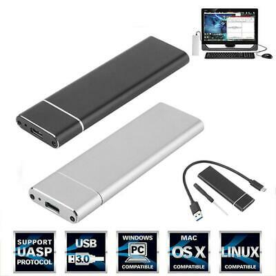 NEW M.2 NGFF SSD Hard Disk Drive Case USB Type-C USB 3.1 NVME PCIE HDD Enclosure