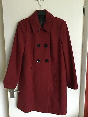 Laura Ashley Womens Red Coat. Size 16. BNWT RRP £70