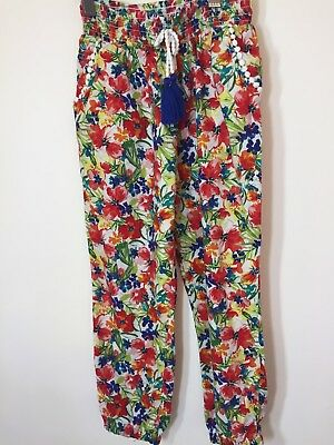 W11. Tu Floral Trousers Girls Age 6