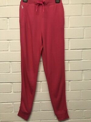 W27. Ralph Lauren Pink Joggers Girls Large Age 12-14