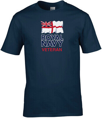Royal Navy Veteran - Printed T-Shirt