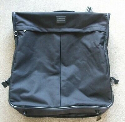 Sterling Luxury Black Suit/Garment Protector Cover Travel Holder Case