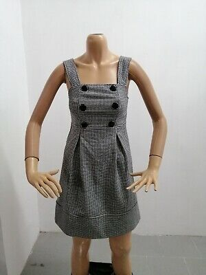 Vestitino BENETTON Donna Taglia Size XS Dress Woman Pull Femme Lana P 7500