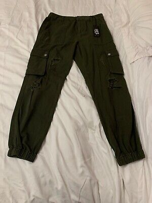 new look Girls 915 cargo trousers Age 14