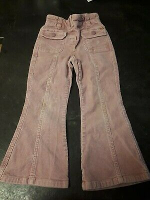 Next girls pink corduroy trousers, aged 3-4 years