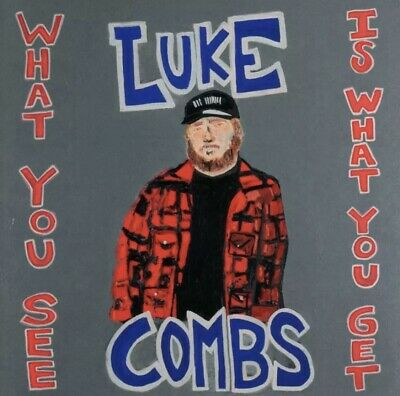 Luke Combs - What You See Is What You Get - 2019  FREE SHIPPING