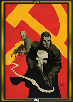 Topps Marvel Collect Punisher: Soviet #1 GOLD Comic Book Day [DIGITAL CARD]