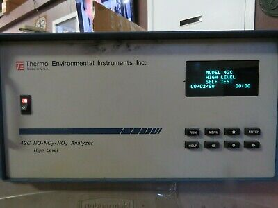 Thermo Environmental 42C No-No2-Nox High Level Analyzer Used