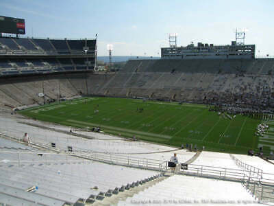 Two - 2019 Penn State vs. Rutgers Tickets - End Aisle - Incl. Parking