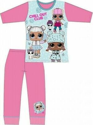 LOL Surprise Pyjamas Childrens Kids Girls Pink Blue PJs Age 4-10 Years