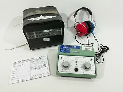 Ex Army Kamplex AS7 Audiometer Hearing Test Portable Screening - Serviceable
