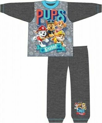 Paw Patrol Pyjamas Childrens Kids Boys Grey PJs Age 18 Months -5 Years