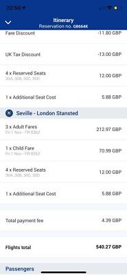 *Bargain* 4 Flight Tickets To Seville In  Autumn Holiday