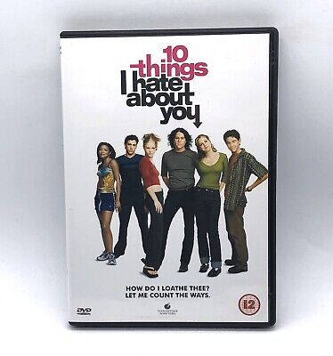 10 Things I Hate About You DVD Movie Comedy Heath Ledger Julia Stiles