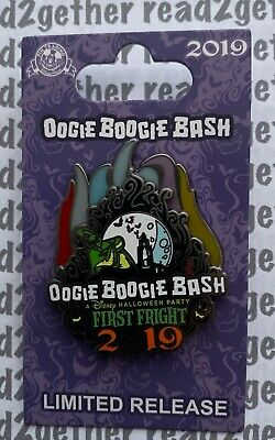 Disney Pin DCA Oogie Boogie Bash First Fright 2019 A Disney Halloween Party