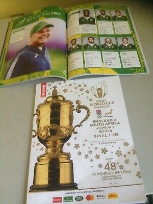 2019 Rugby World Cup Final Programme