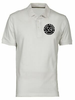 Polo for Man White FUN0916 CAFE RACER ROCKERS SQUARE 3 X 3