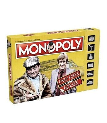 Only Fools and Horses Monopoly Board Game New Sitcom