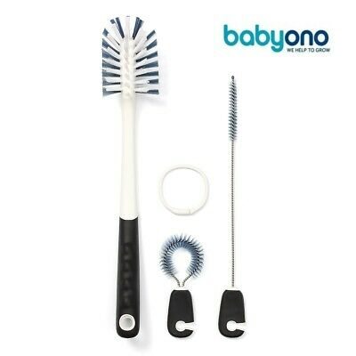 Natural Nursing Set of brushes for bottles and soothers brush for bottle Babyono
