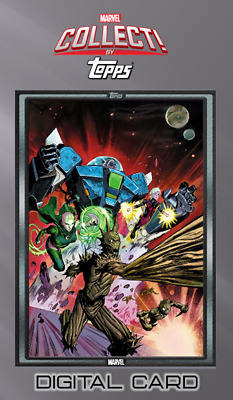 2019 COMIC BOOK DAY NOV 15 GUARDIANS OF GALAXY #11 Topps Marvel Collect Digital