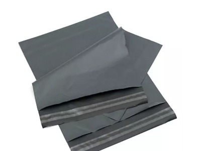 "GREY STRONG MAILING MIXED BAGS PLASTIC POSTAL MAIL POSTAGE POLY 6"" x 9"""