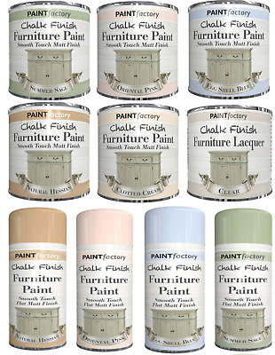 Chalk Finish Furniture Paint Wax/Lacquer Matt Finish, Antique White,Pink,Cream