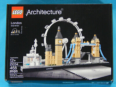 Lego Architecture 21034 London Skyline New Sealed 2017 London, Great Britain