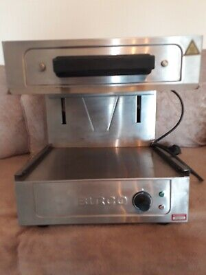 burco catering rise and fall salamander stainless steel grill
